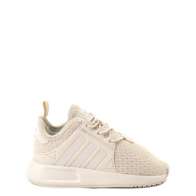 Main view of adidas X_PLR Athletic Shoe - Toddler - Beige Monochrome