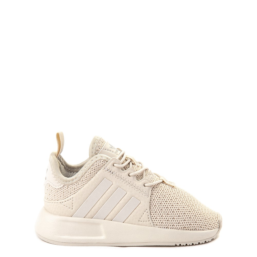 adidas X_PLR Athletic Shoe - Toddler - Beige Monochrome