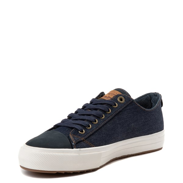 alternate view Mens Levi's 501® Neil Lo Casual Shoe - NavyALT3
