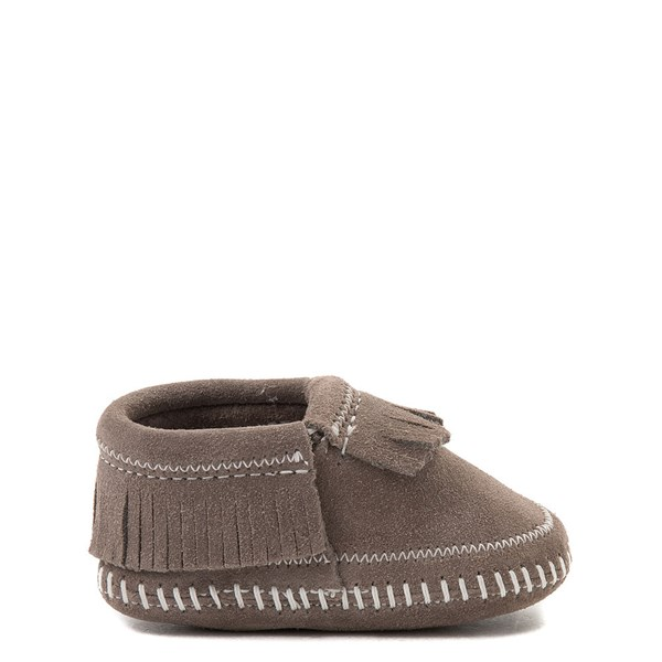 Main view of Minnetonka Riley Bootie - Baby / Toddler - Gray