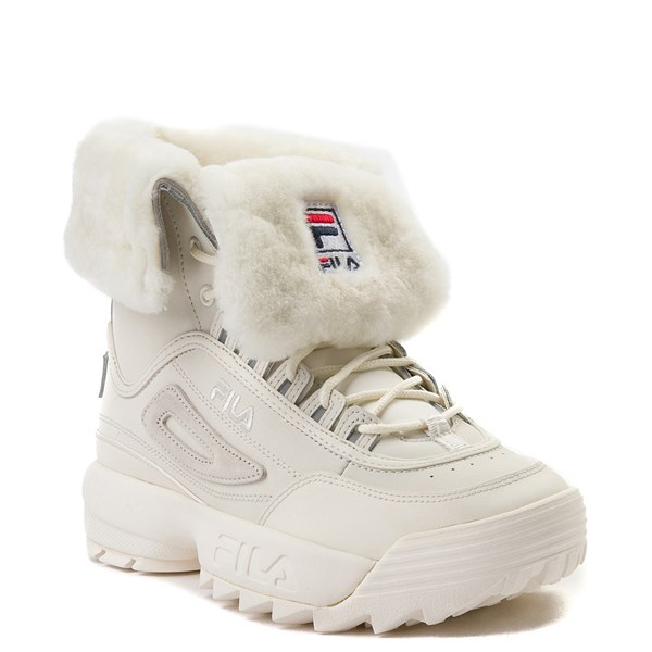 Alternate view of Womens Fila Disruptor Shearling Athletic Shoe