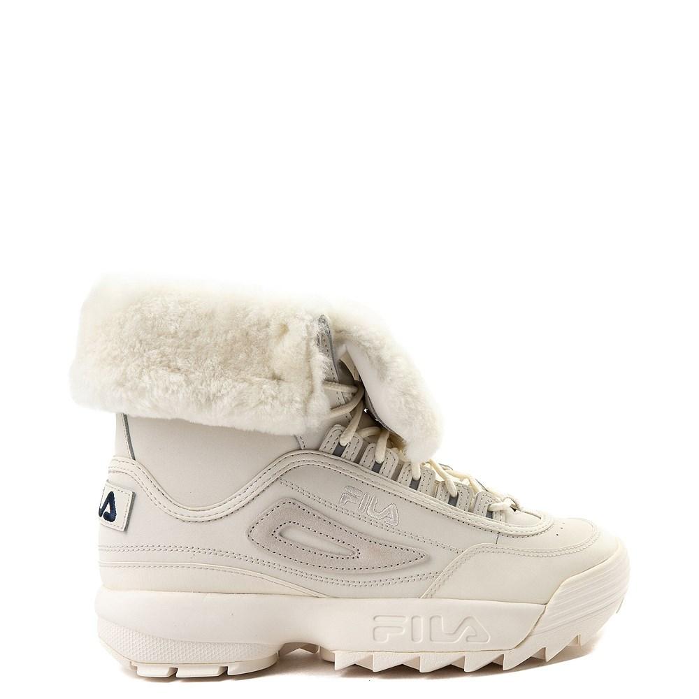 Womens Fila Disruptor Shearling Athletic Shoe. Previous. alternate image  ALT5. alternate image default view 15388310e9e