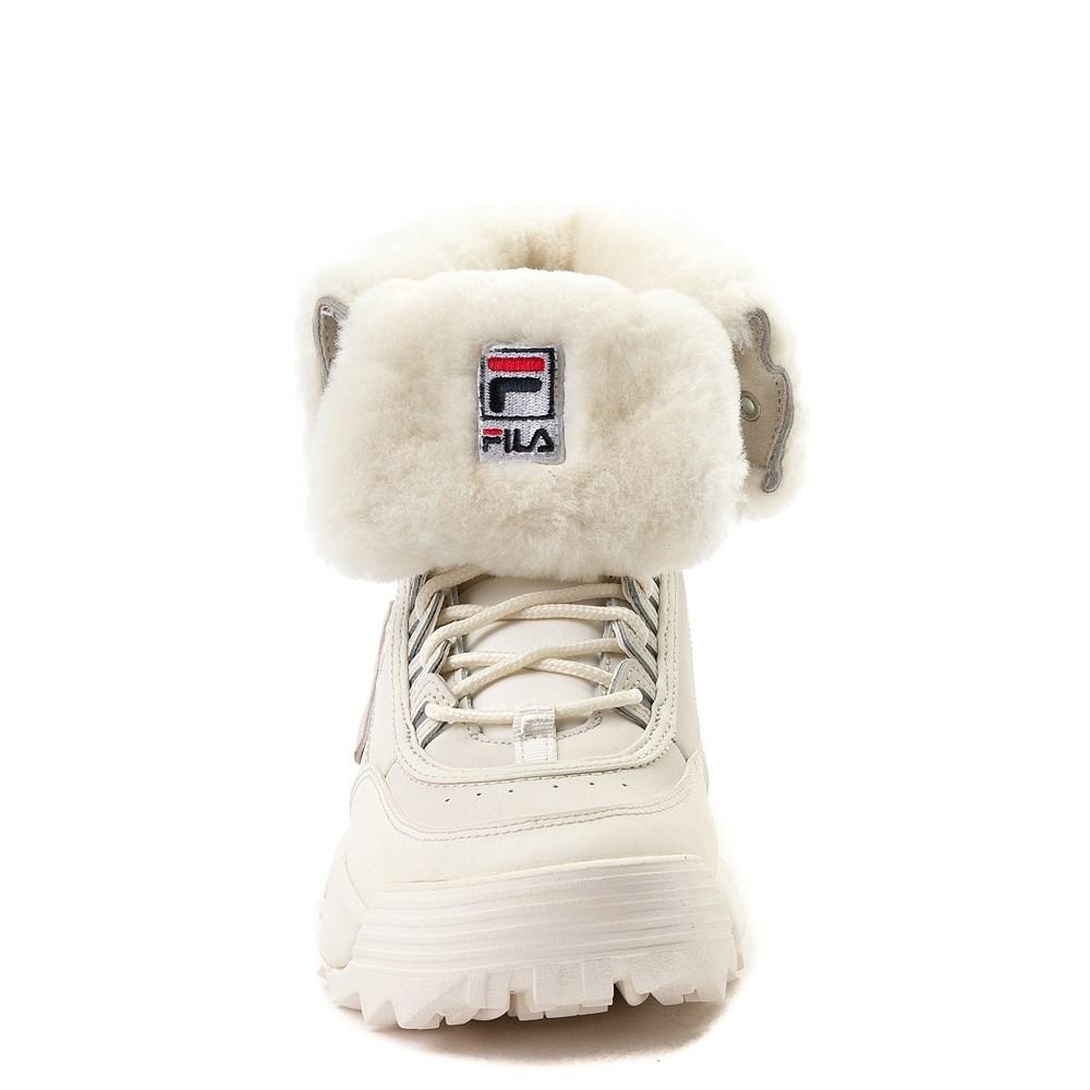7ee5c8b94 alternate view Womens Fila Disruptor Shearling Athletic ShoeALT4