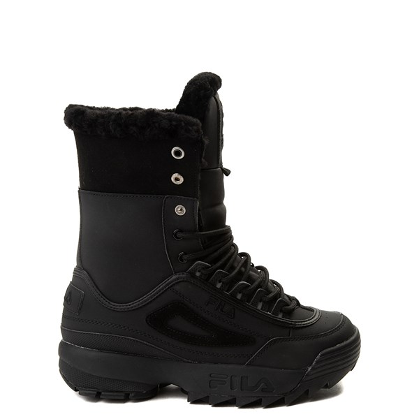Womens Fila Disruptor Shearling Athletic Shoe
