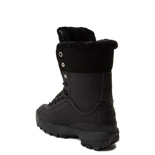 alternate view Womens Fila Disruptor Shearling BootALT2