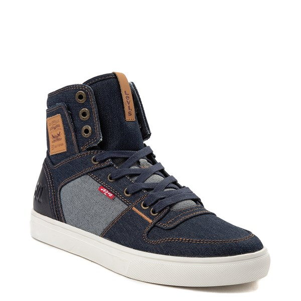 alternate view Mens Levi's 501® Mason Hi Casual Shoe - DenimALT1