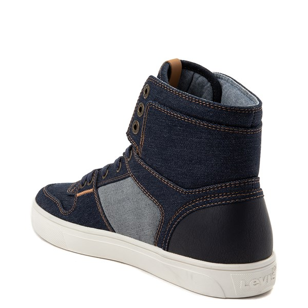 alternate view Mens Levi's 501® Mason Hi Casual Shoe - DenimALT2