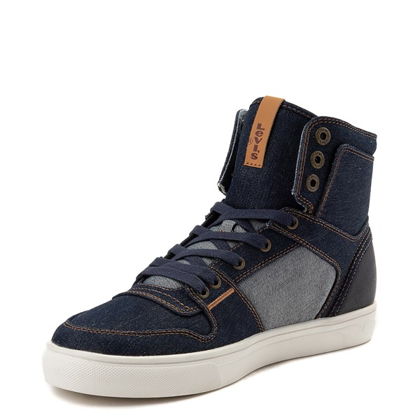 alternate view Mens Levi's 501® Mason Hi Casual Shoe - DenimALT3