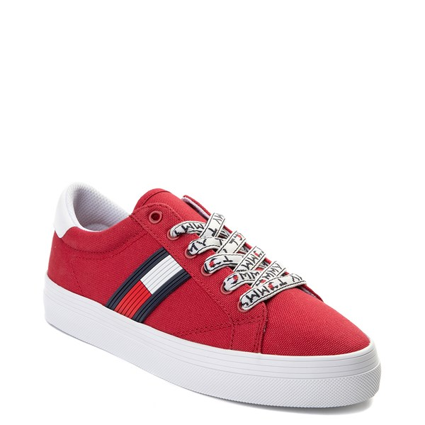 alternate view Womens Tommy Hilfiger Fantim Casual Shoe - RedALT1