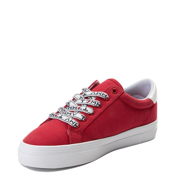 alternate view Womens Tommy Hilfiger Fantim Casual Shoe - RedALT3