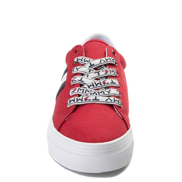 alternate view Womens Tommy Hilfiger Fantim Casual Shoe - RedALT4