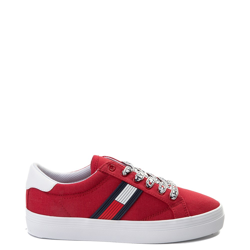 Womens Tommy Hilfiger Fantim Casual Shoe - Red