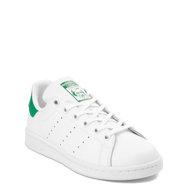 alternate view adidas Stan Smith Athletic Shoe - Big Kid - White / GreenALT1
