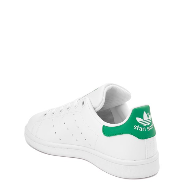 alternate view adidas Stan Smith Athletic Shoe - Big Kid - White / GreenALT2
