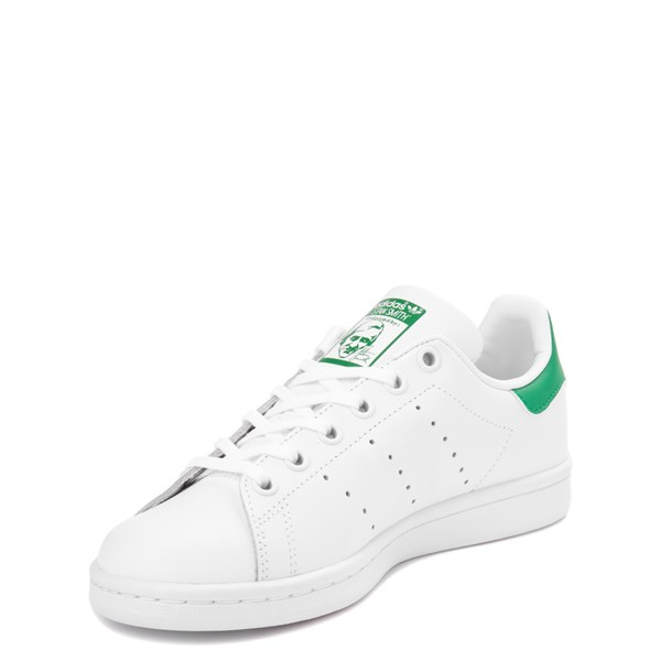 alternate view adidas Stan Smith Athletic Shoe - Big Kid - White / GreenALT3