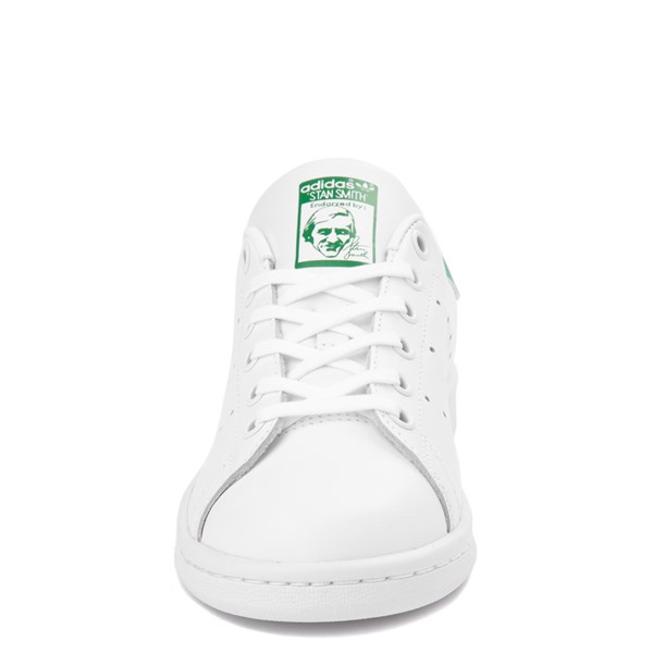alternate view adidas Stan Smith Athletic Shoe - Big Kid - White / GreenALT4