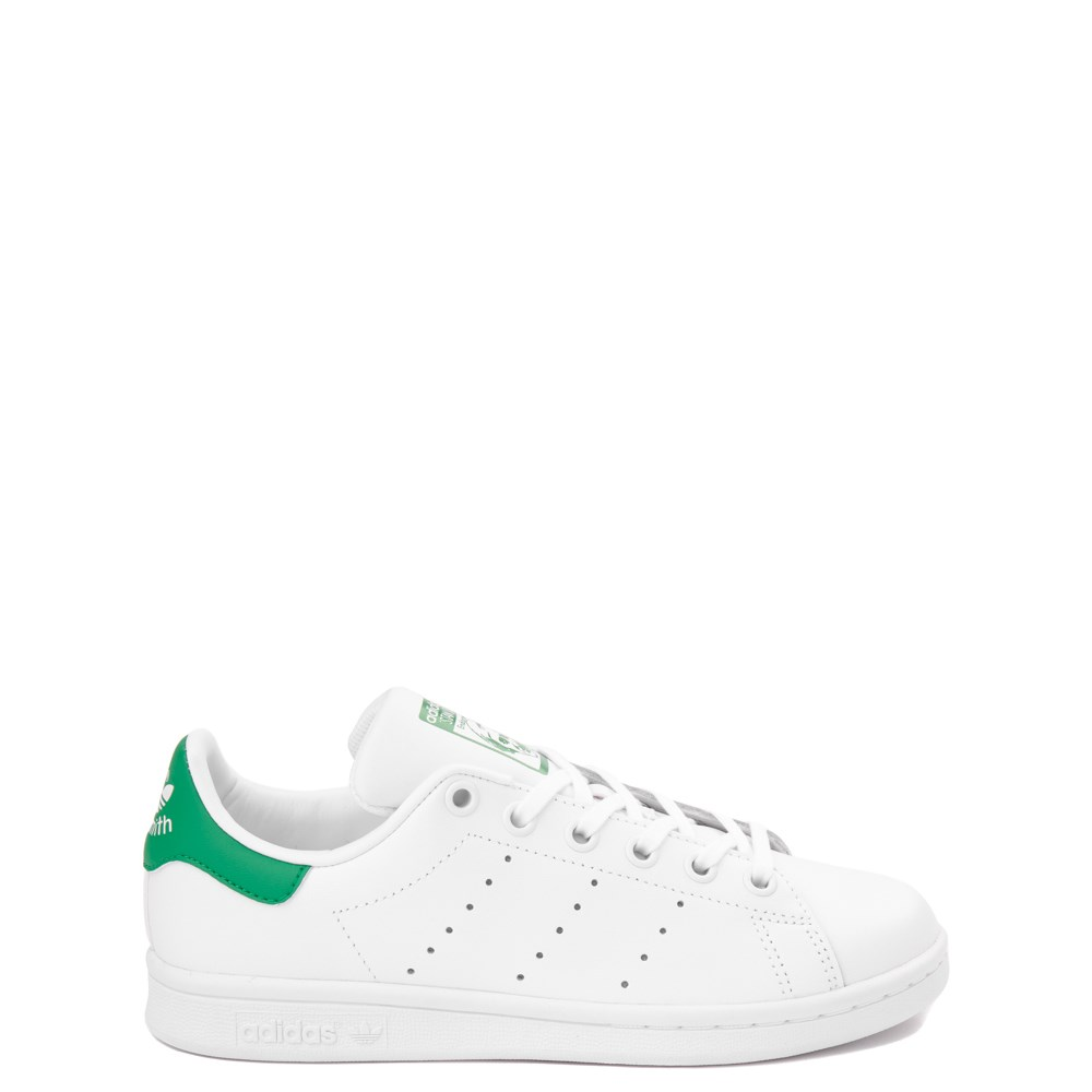 adidas Stan Smith Athletic Shoe - Big Kid - White / Green