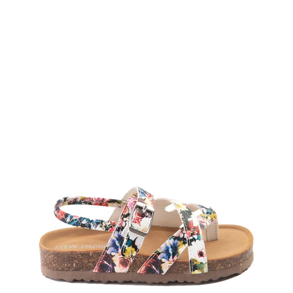 Steve Madden Bartlet Floral Sandal - Toddler / Little Kid