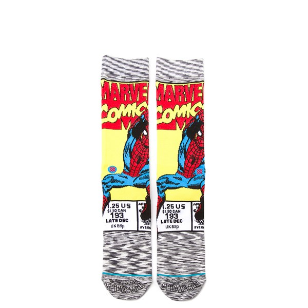 Alternate view of Mens Stance Spider-Man Comic Crew Socks