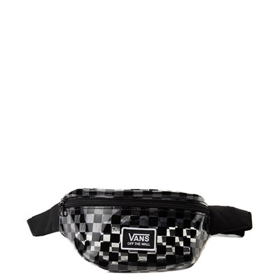 Main view of Vans Clear Cut Checkerboard Travel Pack - Clear / Black