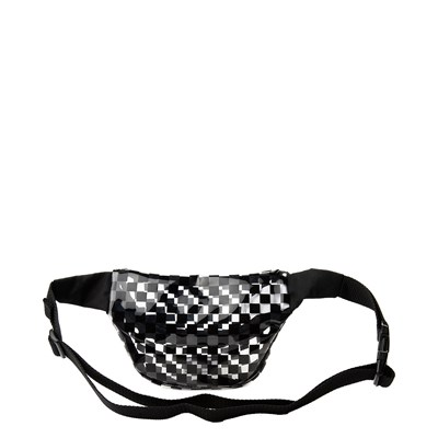 Alternate view of Vans Clear Cut Checkerboard Travel Pack - Clear / Black