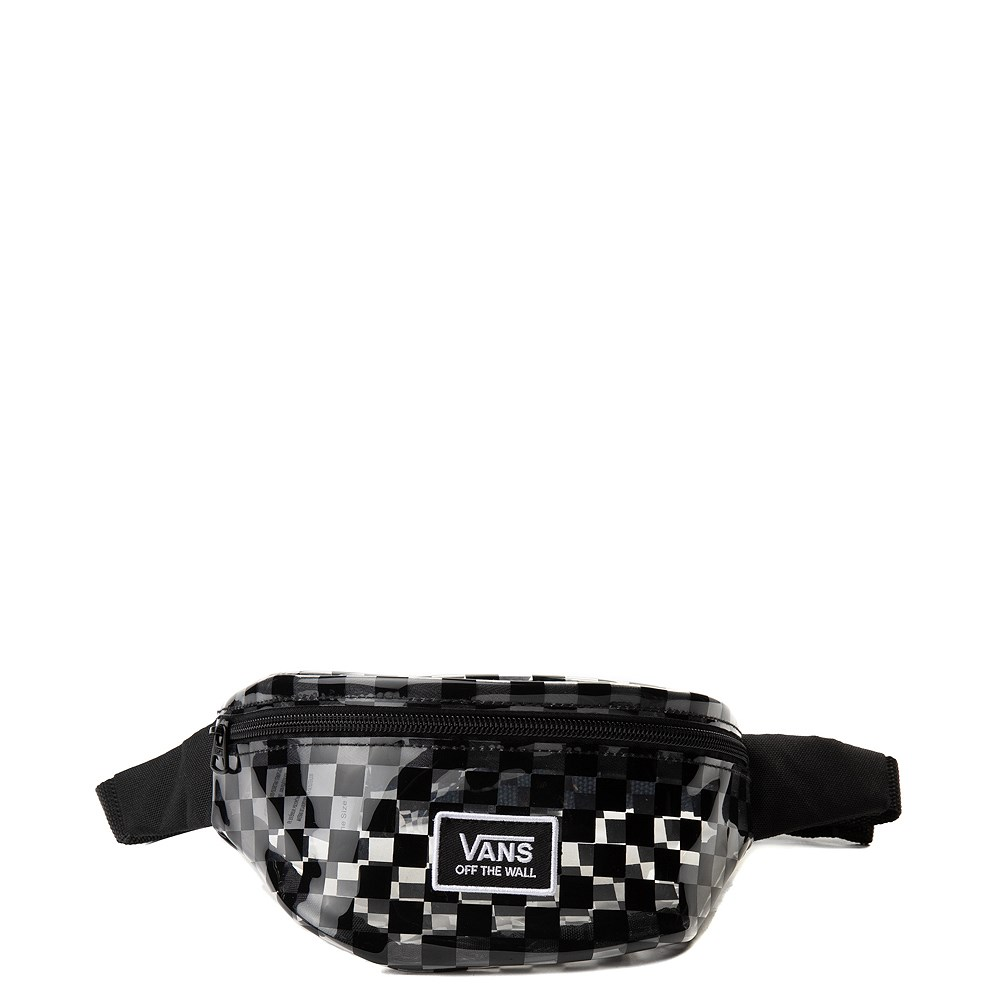 Vans Clear Cut Checkerboard Travel Pack - Clear / Black