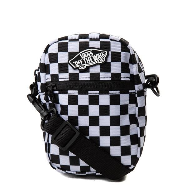 Vans Street Ready Checkerboard Crossbody Bag - Black / White