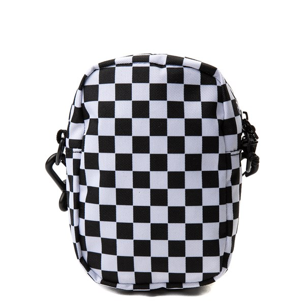 alternate view Vans Street Ready Checkerboard Crossbody Bag - Black / WhiteALT1