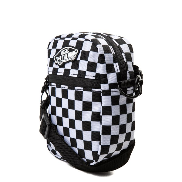 alternate view Vans Street Ready Checkerboard Crossbody Bag - Black / WhiteALT2
