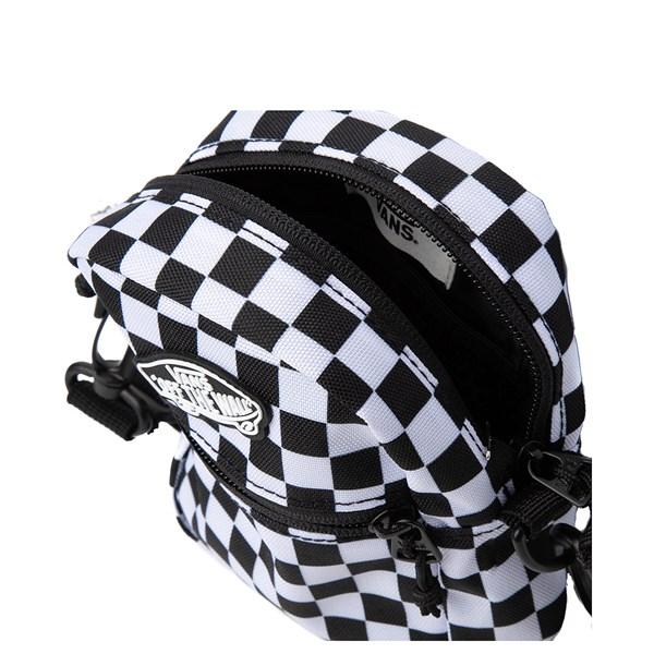 alternate view Vans Street Ready Checkerboard Crossbody Bag - Black / WhiteALT3