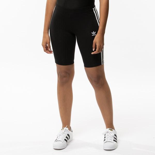 alternate view Womens adidas 3-Stripes Bike ShortsALT1