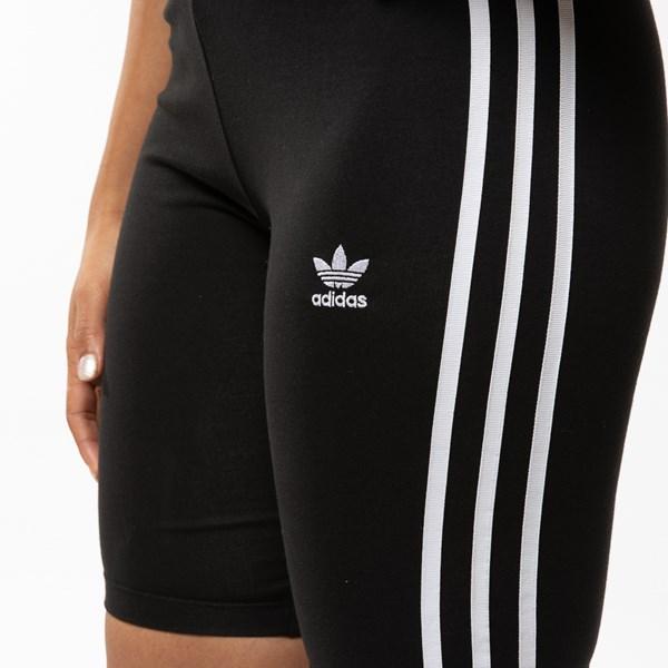 alternate view Womens adidas 3-Stripes Bike ShortsALT4