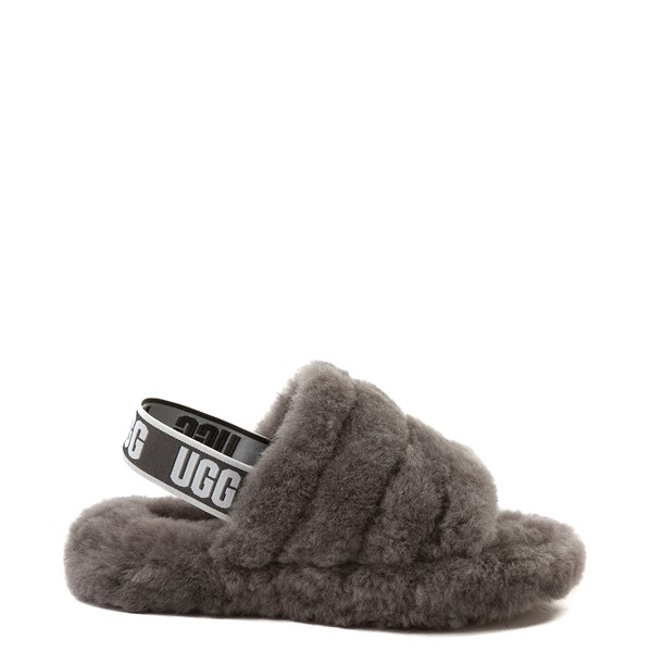 Default view of UGG® Fluff Yeah Slide Sandal - Little Kid / Big Kid