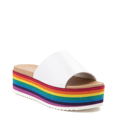 Alternate view of Womens Madden Girl Ashley Platform Slide Sandal