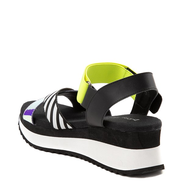 alternate view Womens Dirty Laundry Get Some Platform Sandal - Black / MultiALT2