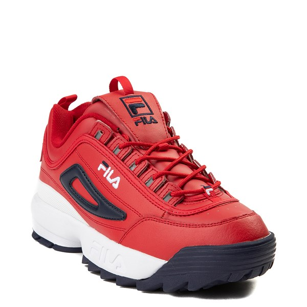 alternate view Mens Fila Disruptor 2 Premium Athletic Shoe - RedALT1