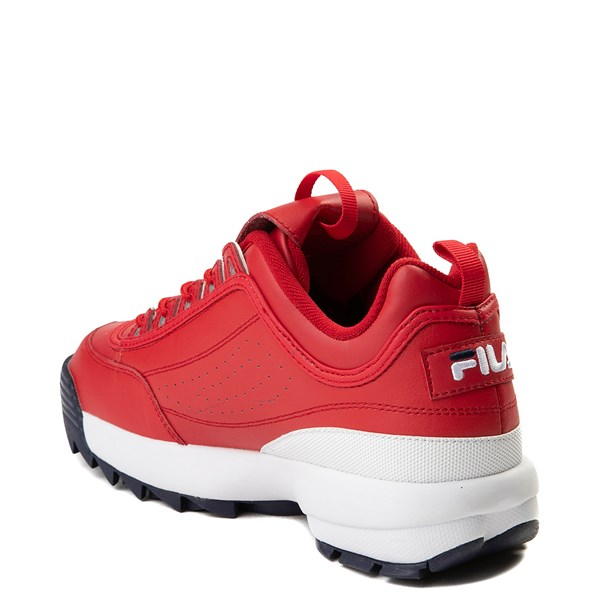 alternate view Mens Fila Disruptor 2 Premium Athletic Shoe - RedALT2