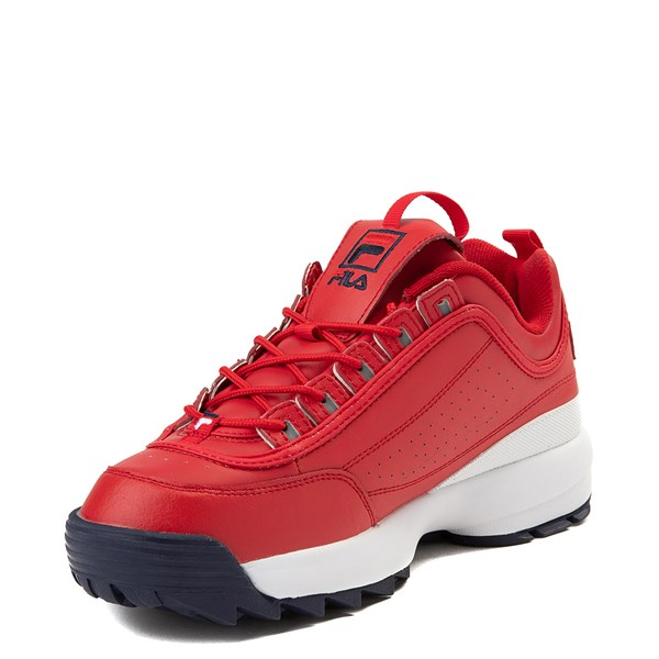 alternate view Mens Fila Disruptor 2 Premium Athletic Shoe - RedALT3