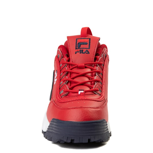 alternate view Mens Fila Disruptor 2 Premium Athletic Shoe - RedALT4