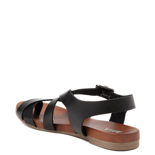 alternate view Womens MIA Isadora Sandal - BlackALT2