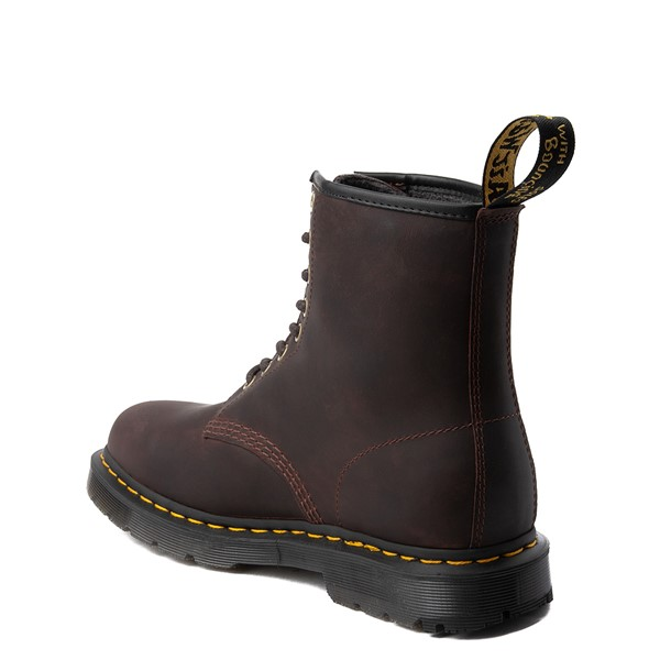 alternate view Dr. Martens 1460 8-Eye Snowplow Boot - BrownALT1