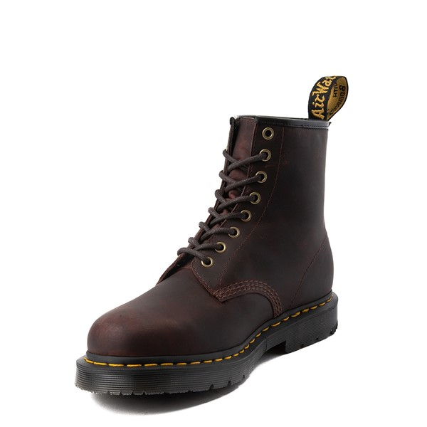 alternate view Dr. Martens 1460 8-Eye Snowplow Boot - BrownALT2
