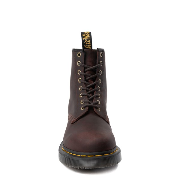alternate view Dr. Martens 1460 8-Eye Snowplow Boot - BrownALT4