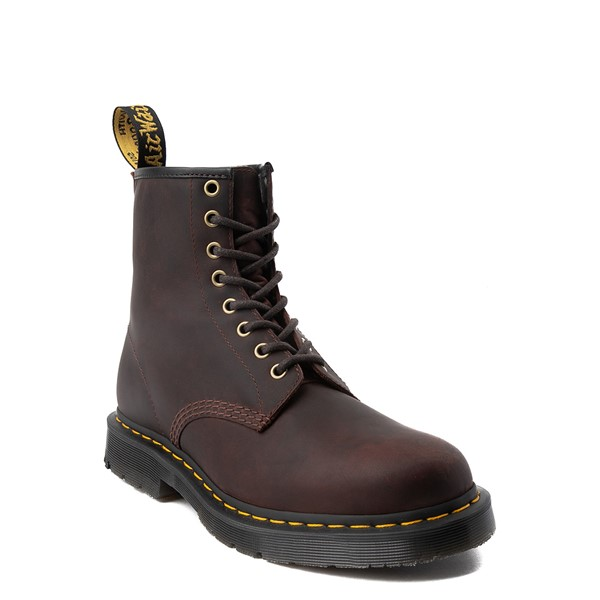 alternate view Dr. Martens 1460 8-Eye Snowplow Boot - BrownALT5