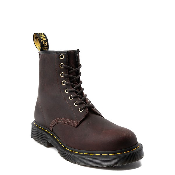 Alternate view of Dr. Martens 1460 8-Eye Snowplow Boot - Brown
