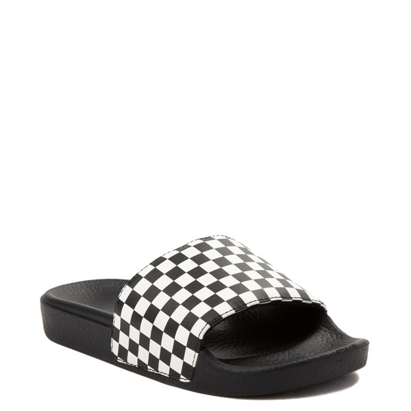 Alternate view of Vans Slide On Chex Sandal - Little Kid / Big Kid