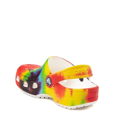 Alternate view of Crocs Classic Tie Dye Clog - Little Kid / Big Kid - Multi