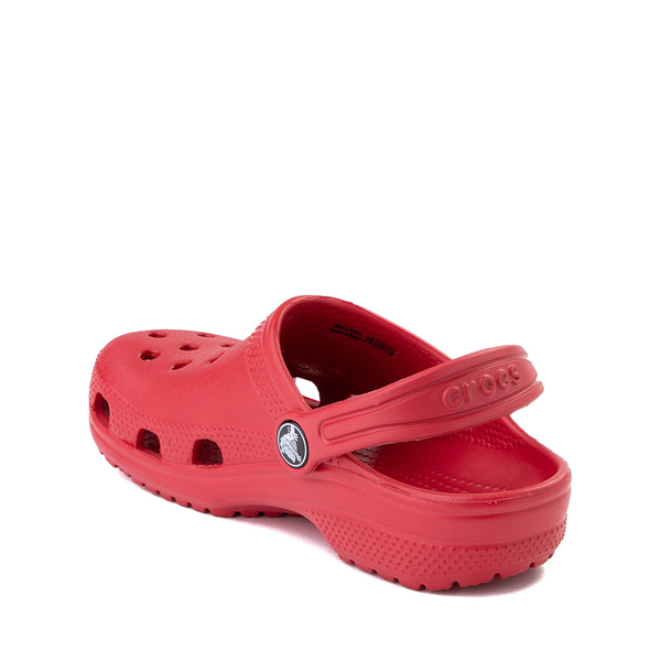alternate view Crocs Classic Clog - Baby / Toddler / Little Kid - RedALT1