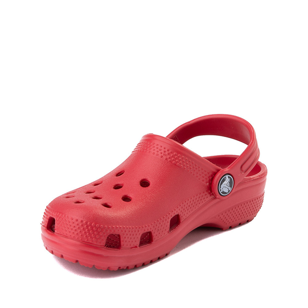 alternate view Crocs Classic Clog - Baby / Toddler / Little Kid - RedALT2