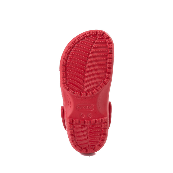 alternate view Crocs Classic Clog - Baby / Toddler / Little Kid - RedALT3